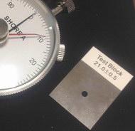 Acessório OPCIONAL = consulto preço em separado. Bloco padrão para conferências rápidas e segura durante o trabalho normal.