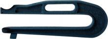Arco com 300mm de profundidade para medidores de espessura. Relógio com curso de até 30mm.