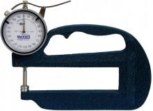 Medidor de espessura milesimal analógico com 120mm de profundidade