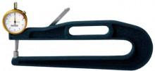 Medidor de espessura com ARCO PROFUNDO - 300mm.